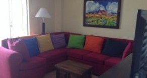 Furnished condo for rent